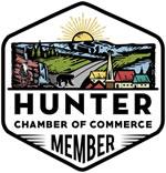 member of Hunter Chamber of Commerce logo